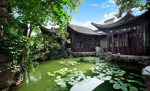 中式设计园林扬州小盘谷图片