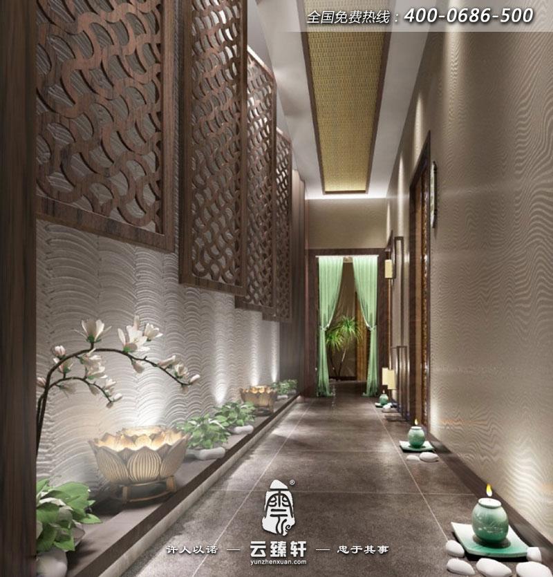 苏州spa养生会所装修效果图_北京云臻轩中式设计机构图片