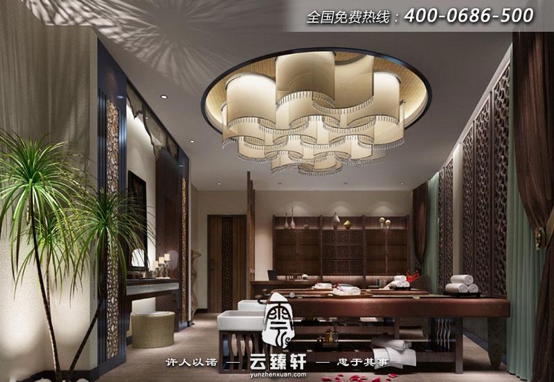 苏州spa养生会所装修效果图_北京云臻轩中式设计机构