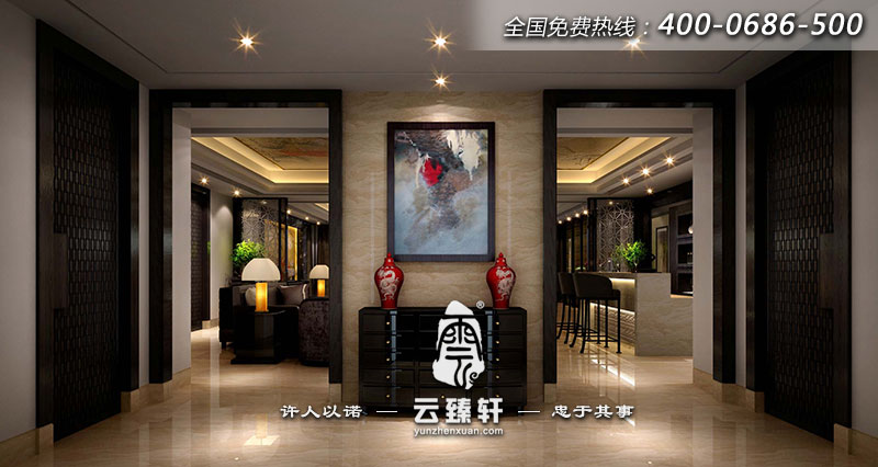 山西中式茶楼方案所室内设计冗余禅意服务器v茶楼图片
