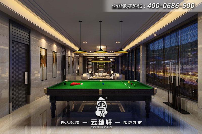 山西中式禪意茶樓會所室內設計方案