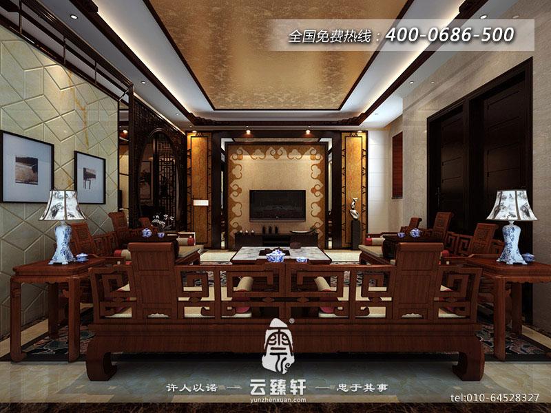 中式風格電視背景墻圖片