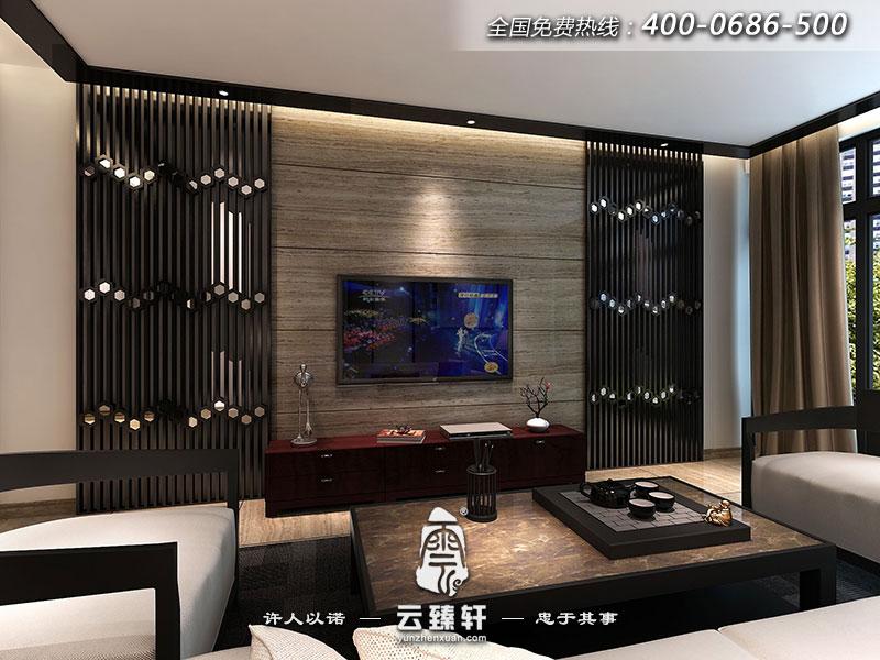 后现代中式客厅装修效果图