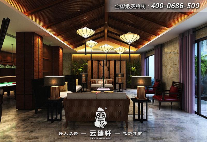 作为空间规划者,提炼传统文化是不可或缺的研究内容,无论是对传统空间的更新利用还是将传统文化融入新功能空间,进而提升空间质量和品味,传统文化都是至关重要的部分,此别墅就是在东南亚风格的基础上融入了中式风格,形成特有的东南亚中式风格。