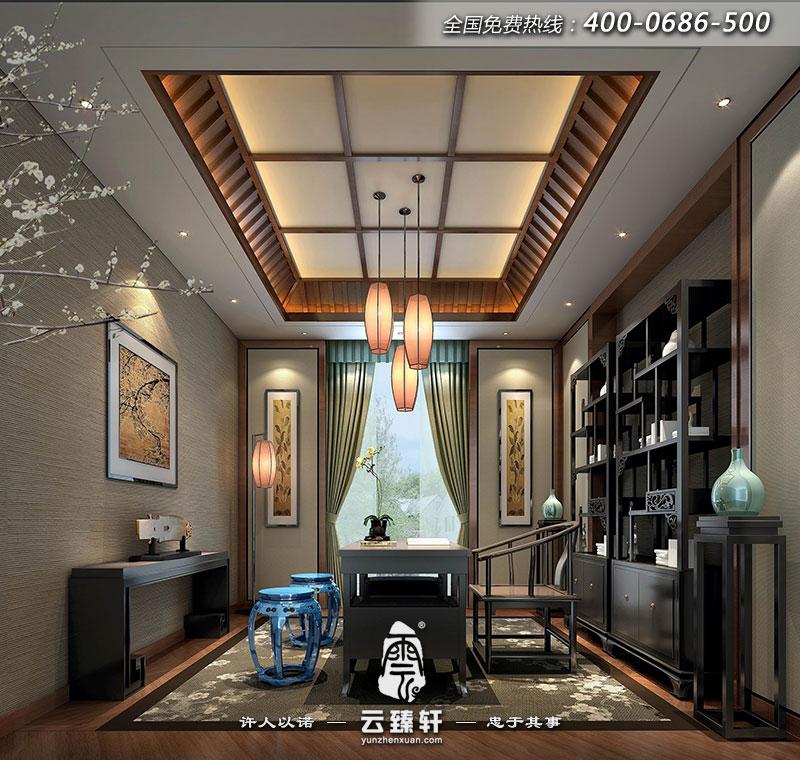 苏州雅居中式别墅设计效果图_北京云臻轩中式设计机构