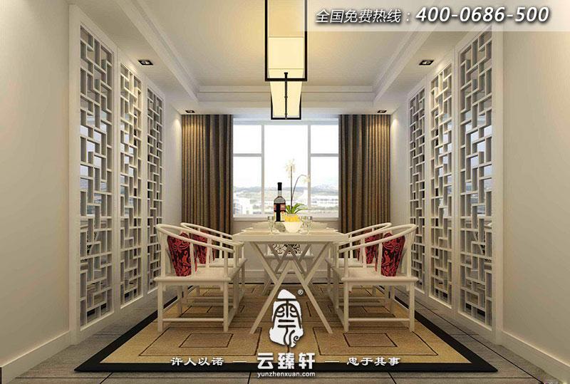 潍坊复式楼中楼中式简约装修效果图