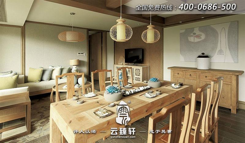 无锡灵山拈花湾之禅意别墅室内设计