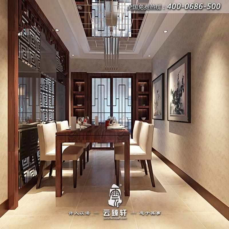 北京新中式室内设计精品家居效果图