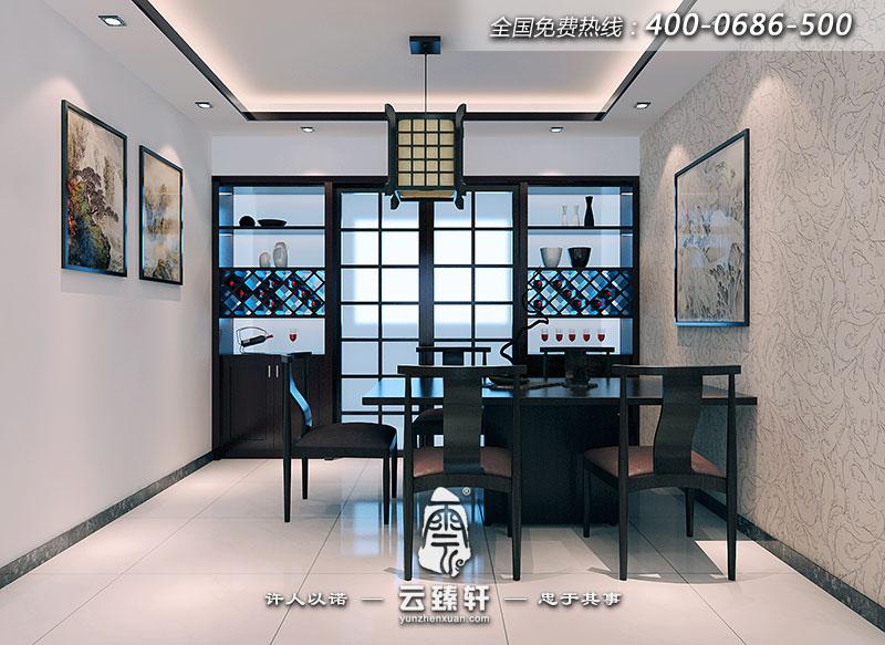 新中式装饰样板房