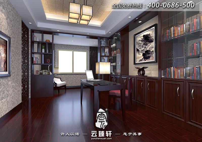 绍兴王总简约中式别墅装修设计效果图