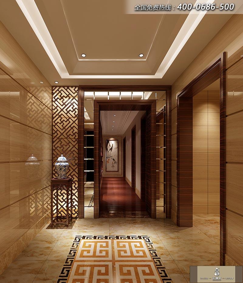 欧式风格门厅走廊吊顶图片 设计本装修效果图