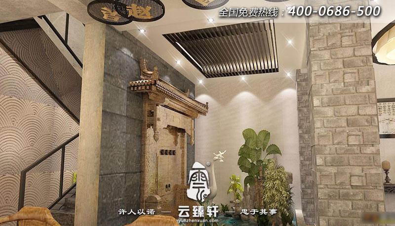 舟山曹先生的茶楼室内设计案例