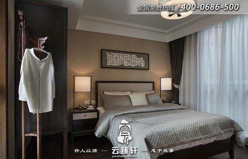 禅意卧室装修效果图