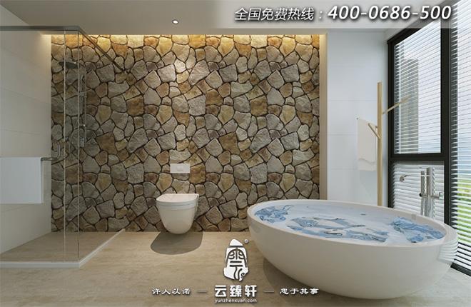 个人瑜伽区洗浴间禅意设计效果图