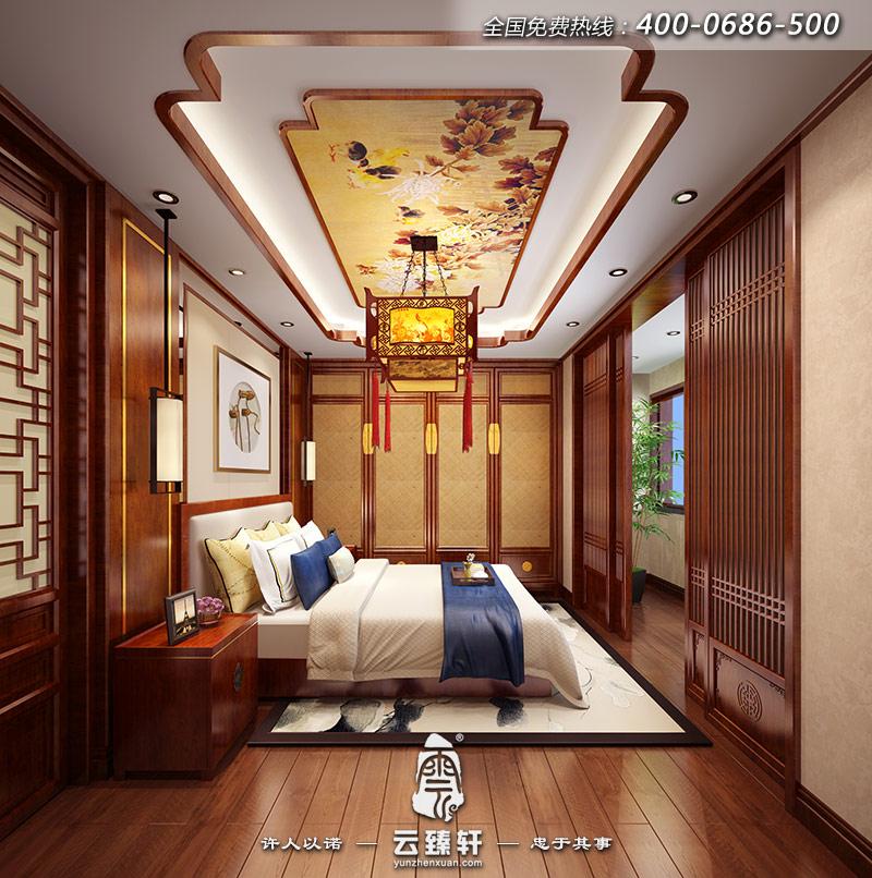 北京王先生155平米新古典中式装修效果图