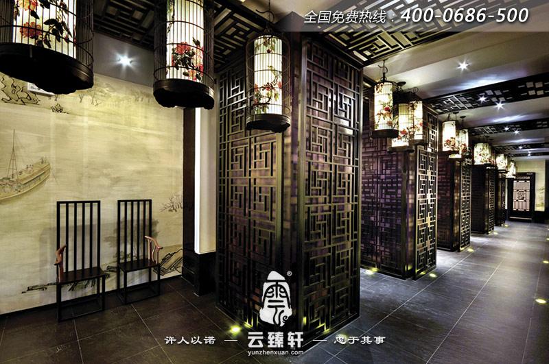 中式茶馆装修效果图