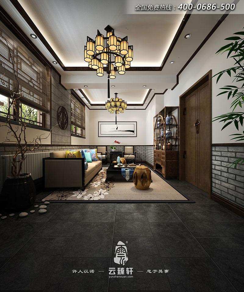 装修效果图   茶室一般认为是中国文化的传承,中国很早就开始喝茶了