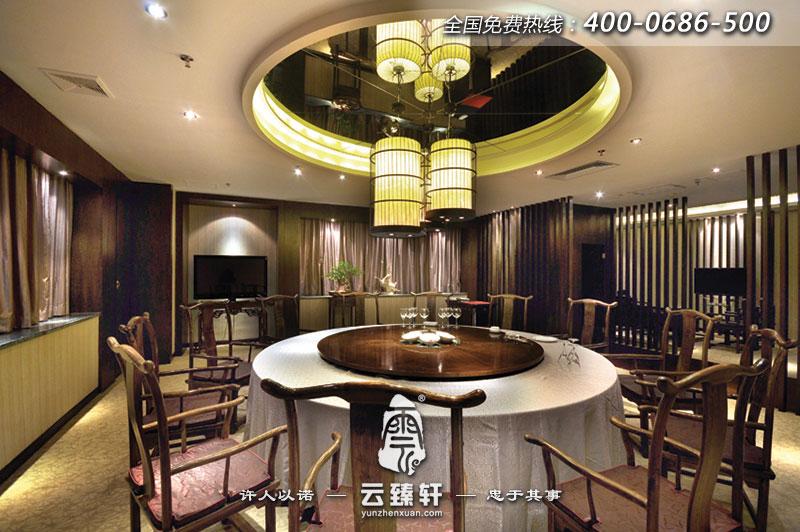 古典中式餐厅包间设计
