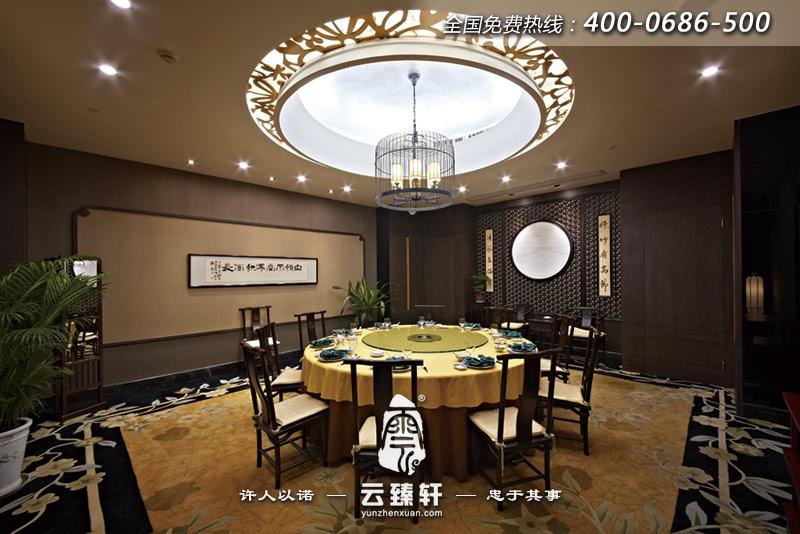 中式餐厅包间装修效果图图片