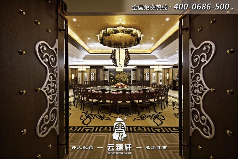 古典餐厅包间装修图片