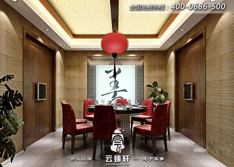 北京中式餐厅设计效果图