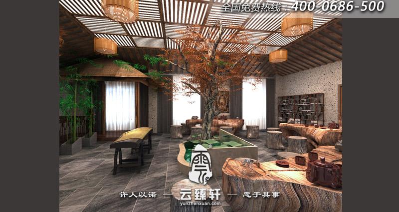禅意中式茶桌摆放位置要合理图片