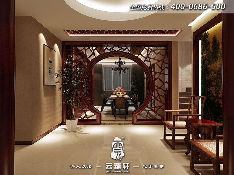 新中式餐厅装修图片