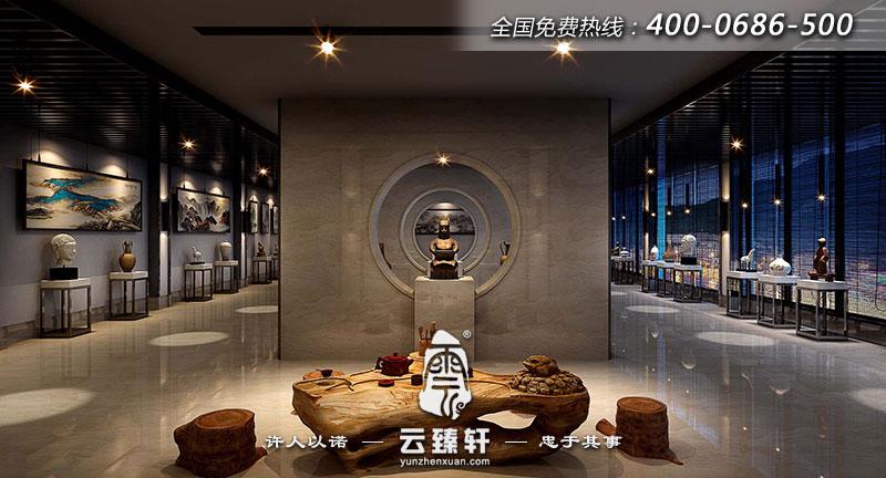 中式禅意装修设计效果图
