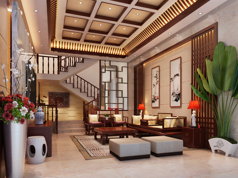 别墅中式古典装修风格怎么样?_北京云臻轩中式设计机构