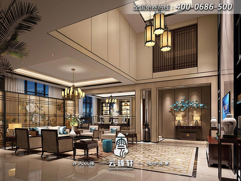 别墅中式设计多少钱_北京云臻轩中式设计机构