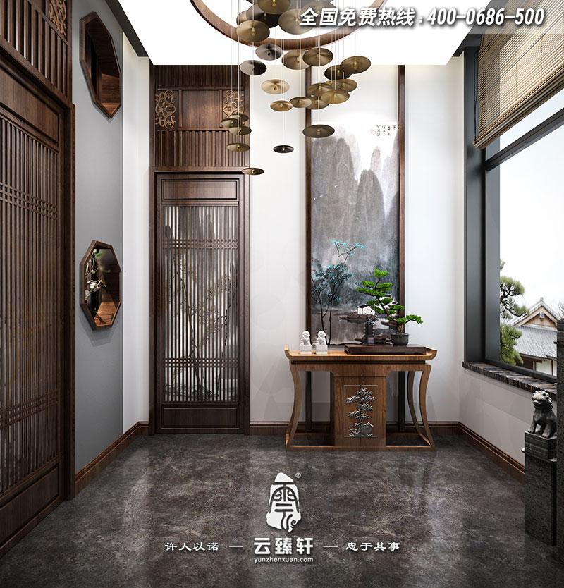 茶空间门厅装修效果图