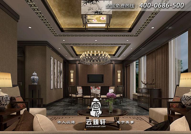 新中式酒店大堂设计图片