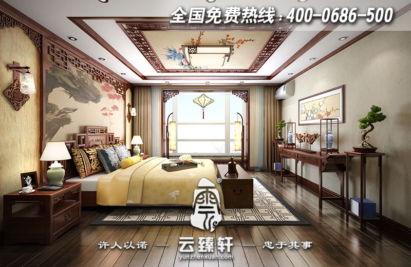 修身养性,乃是中式风格所推崇的享受模式。中式装修风格诞生于中国传统文化复兴的新 时期,而中式简约装修风格则是流行于今朝。在探寻中国设计界的本土意识之初,逐渐成熟的新一代设计队伍和消费市场孕育出含蓄秀美的新的中式简约装修风格。随着中国文化的风靡全球,传统的中式美与现代元素巧妙融合,在一步一景的前提下,中式简约装修风格展现出富有禅意又不落俗套的美。 中式简约装修风格在强调主人文化品位和自身修养的同时,也注重生活的舒适性。中式简约装修风格的装饰品一般是绿色植物、布艺、装饰画,以及不同样式的灯具、开关等,同 时