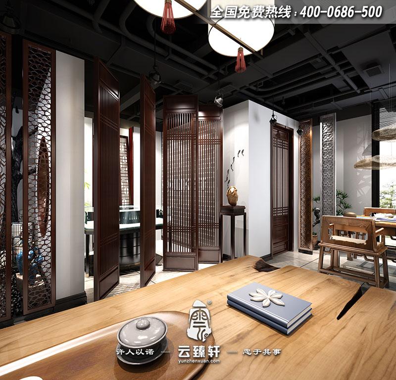 中式风格茶楼装修有什么特色?