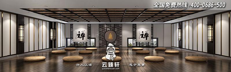 350平现代中式禅意空间装修设计效果图